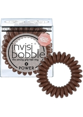 Invisibobble - Haargummi - 3 Stk. - Power - The Strong Grip Hair Ring - Pretzel Brown