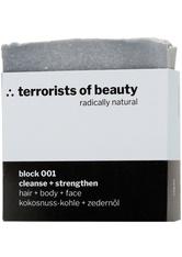 Terrorists Of Beauty Produkte Block Cleanse + Strenghten Haarshampoo 1.0 pieces