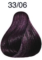 WELLA - Wella Color Touch Plus 33/06 dunkelbraun-intensiv natur-violett 60 ml - HAARFARBE