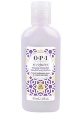 OPI - OPI Avojuice Vanilla Lavender Hand- & Bodylotion 30 ml - HÄNDE