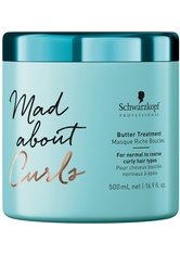 Schwarzkopf Professional Haarpflege Mad About Curls & Waves Mad About Curls Butter Treatment 500 ml