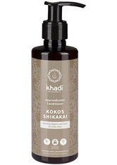 KHADI - Khadi Naturkosmetik Produkte Conditioner - Kokos Shikakai 200ml Haarspülung 200.0 ml - CONDITIONER & KUR