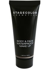 Stagecolor Cosmetics Body & Face Wasserfest Make-Up 40 ml Dark Beige Flüssige Foundation