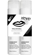 Aktion - Paul Mitchell Save on Duo Invisiblewear - Shampoo 300 ml + Conditioner 300 ml Haarpflegeset