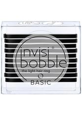 invisibobble Basic The Light Hair Ring - True Black (10 Pack)