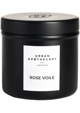 Urban Apothecary Luxury Iron Travel Candle Rose Voile Kerze 175.0 g