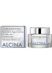 Alcina Kosmetik Trockene Haut Rich Anti Age Cream 250 ml
