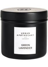 Urban Apothecary Luxury Iron Travel Candle Green Lavender Kerze 175.0 g