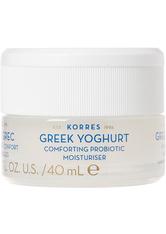 Korres Greek Yoghurt Beruhigende Probiotische Feuchtigkeitscreme 40 ml Tagescreme