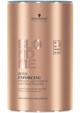Schwarzkopf Professional Haarpflege Blondme Bond Enforcing Premium Lightener 9+ 450 g