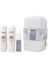 GOLDWELL - Goldwell Produkte Taming Shampoo 250 ml + Taming Conditioner 200 ml + Stylesign Just Smooth Diamond Gloss 50 ml 1 Stk. Haarpflegeset 1.0 st - Haarpflegesets