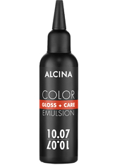 ALCINA Color Gloss+Care Emulsion 10.07 Hell-Lichtblond-Pastell-Braun Haartönung 100 ml