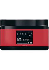 Schwarzkopf Chroma ID Bonding Color Mask 6-88 Rubin für Rottöne und Auffrischungen auf dunkelblonden Grundlagen, 250 ml