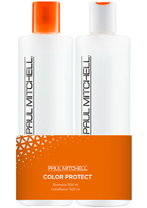 Aktion - Paul Mitchell Color Protect Save on Duo Koziol 2 x 500 ml Haarpflegeset