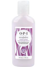OPI - OPI Avojuice Violet Orchid Hand- & Bodylotion 30 ml - HÄNDE
