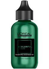 L'ORÉAL PARIS - L'Oreal Professionnel Haarfarben & Tönungen Colorful Hair Flash Pro Hair Make-up Mystic Forest 60 ml - Haartönung