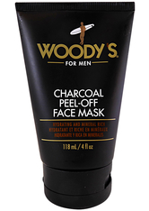 Woody's Herrenpflege Körperpflege Charcoal Peel-off Black Mask 118 ml
