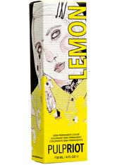 PULP RIOT - Pulp Riot Semi-Permanent Haarfarbe Lemon 118 ml - Haarfarbe