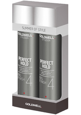 Aktion - Goldwell StyleSign Perfect Hold Big Finish 2 x 300 ml Haarpflegeset