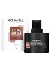 GOLDWELL - Goldwell Dualsenses Color Revive Ansatzkaschierpuder Mittelbraun Kaschiert die Ansätze, passt sich der Haarfarbe perfekt an, 3,7 g - Haarpuder