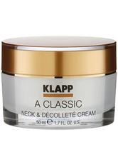 Klapp A Classic Neck & Décolleté Cream 50 ml Dekolletécreme