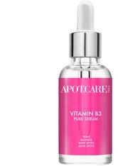 Apot.Care Pure Serum Vitamine B3 30 ml Gesichtsserum