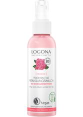 LOGOCOS - LOGONA Reichhaltige Reinigungsmilch Bio-Damaszener Rose 125 ml - MAKEUP ENTFERNER