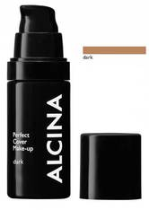 ALCINA - Alcina Perfect Cover Make-up 30 ml Dark Flüssige Foundation - Foundation