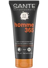 Sante Men Care Homme 365 - Body & Hair - Shower 200ml Hair & Body Wash 200.0 ml