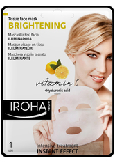 Iroha Pflege Gesichtspflege Brightening Tissue Face Mask 15 ml