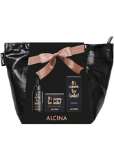 ALCINA - Alcina Produkte It's Never Too Late Tonic 50 ml + It's Never Too Late Gesichtscreme 50 ml + It's Never Too Late Augenbalsam 15 ml + Tasche 1 Stk. Pflegeset 1.0 st - Pflegesets