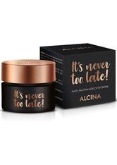 Alcina Kosmetik Effekt & Pflege It's Never Too Late! Anti-Falten-Gesichtscreme 50 ml