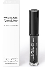 WONDERSTRIPES - Wonderstripes Wonderlashes Wimpern und Brauen Wachstumsserum, 3 ml Wimpernserum - Augenbrauen- & Wimpernserum