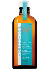 Moroccanoil Haarpflege Behandlung Treatment Light + Dosierpumpe 100 ml