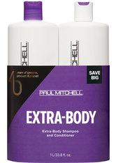 PAUL MITCHELL - Aktion - Paul Mitchell Save Big Extra-Body Set 1000 ml + 1000 ml Haarpflegeset - KÖRPERCREME & ÖLE