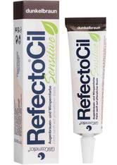 RefectoCil Augen Augenbrauen Sensitive Augenbrauen- und Wimpernfarbe Dunkelbraun 15 ml