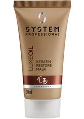 System Professional LipidCode L3 LuxeOil Keratin Restore Mask 30 ml