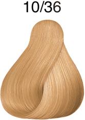 Wella Professionals Color Fresh 10/36 Hell-Lichtblond Gold-Violett Professionelle Haartönung 75 ml