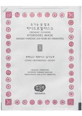 WHAMISA Produkte Flowers Hydrogel Facial Mask 33g Maske 33.0 g