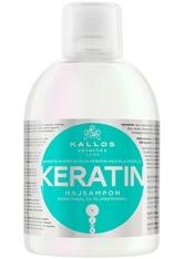 Kallos Cosmetics - Haarshampoo - KJMN Shampoo with Keratin & Milk Protein - 1000ml