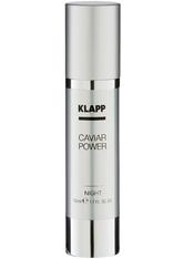 Klapp Caviar Power Night Cream 50 ml Nachtcreme
