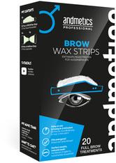 Andmetics Produkte andmetics Brow Wax Strips Men Professional 20 Stück Enthaarungstools 20.0 pieces