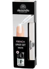 ALESSANDRO - Alessandro Beauty-Utensilien French Liner Set 2.00 Artikel im Set - Nagellack