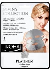Iroha Pflege Gesichtspflege Divine Collection Hydra Glowing Mask 25 ml