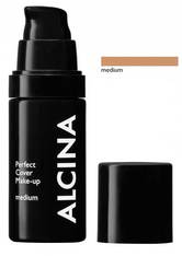 ALCINA - Alcina Perfect Cover Make-up 30 ml Medium Flüssige Foundation - Foundation