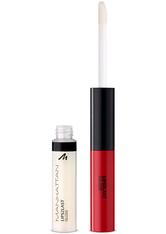 Manhattan Lips2Last Colour & Gloss 45A-Glam Red 7,5 ml Lipgloss