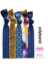 Popband London Popband Stardust Blue-Gold Haarband 1.0 pieces