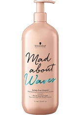 Schwarzkopf Professional Haarpflege Mad About Curls & Waves Mad About Waves Sulfate-Free Cleanser 1000 ml