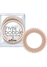 Invisibobble - Haargummi - 3 Stk. - Slim - The Elegant Hair Ring - Bronze Me Pretty