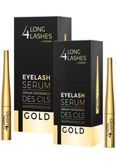 LONG4LASHES - LONG4LASHES Eyelash Serum GOLD & BOLD Wimpernpflegeset  1 Stk - Pflegesets